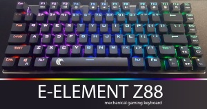 e-element z88 mechanical gaming keyboard review